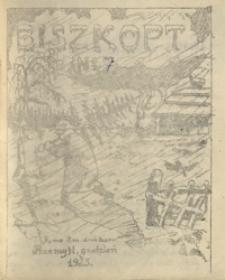 Biszkopt : pismo II m. druż. harc. 1925, nr 7 (grudzień)