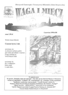 Waga i Miecz : miesięcznik Samorządu i Towarzystwa Miłośników Ziemi Strzyżowskiej. 1998, [R. 8], nr 6 (czerwiec)