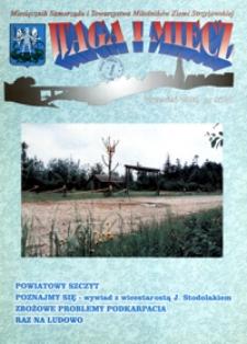 Waga i Miecz : miesięcznik Samorządu i Towarzystwa Miłośników Ziemi Strzyżowskiej. 1999, [R. 9], nr 9 (wrzesień)
