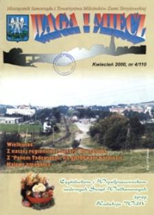 Waga i Miecz : miesięcznik Samorządu i Towarzystwa Miłośników Ziemi Strzyżowskiej. 2000, [R. 10], nr 4 (kwiecień)
