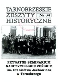 Tarnobrzeskie Zeszyty Historyczne. 2010, nr 34 (grudzień)