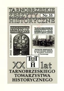 Tarnobrzeskie Zeszyty Historyczne. 2011, nr 35 (maj)