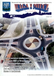 Waga i Miecz : miesięcznik Samorządu i Towarzystwa Miłośników Ziemi Strzyżowskiej. 2008, [R. 18], nr 4 (kwiecień)