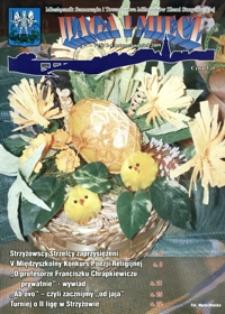 Waga i Miecz : miesięcznik Samorządu i Towarzystwa Miłośników Ziemi Strzyżowskiej. 2009, [R. 19], nr 3-4 (marzec-kwiecień)
