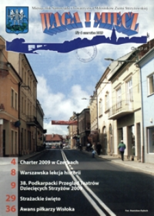 Waga i Miecz : miesięcznik Samorządu i Towarzystwa Miłośników Ziemi Strzyżowskiej. 2009, [R. 19], nr 6 (czerwiec)