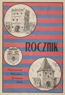 Rocznik Stowarzyszenia Miłośników Jarosławia. 1962, [R. 3]