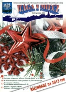Waga i Miecz : miesięcznik Samorządu i Towarzystwa Miłośników Ziemi Strzyżowskiej. 2012, [R. 22], nr 12 (grudzień)