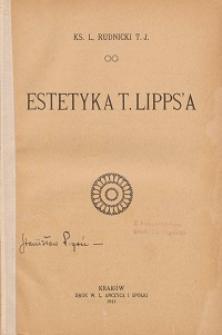 Estetyka T. Lipps'a