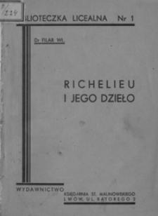 Kardynał Richelieu i jego dzieło