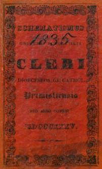 Schematismus Universi Venerabilis Cleri Dioeceseos graeco catholicae Premisliensis pro Anno Domini M.D.CCCXXXV