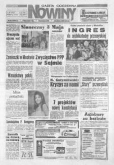 Nowiny : gazeta codzienna. 1993, nr 84-104 (maj)