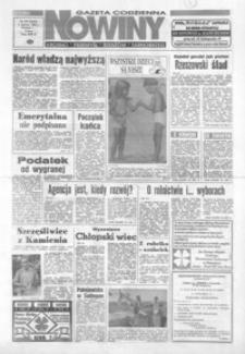 Nowiny : gazeta codzienna. 1993, nr 105-125 (czerwiec)