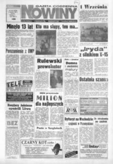 Nowiny : gazeta codzienna. 1993, nr 170-191 (wrzesień)