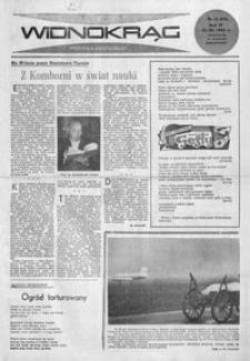 Widnokrąg : tygodnik kulturalny. 1962, nr 11 (18 marca)