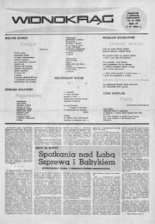 Widnokrąg : tygodnik kulturalny. 1964, nr 14 (5 kwietnia)