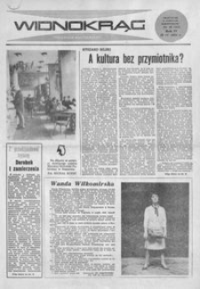 Widnokrąg : tygodnik kulturalny. 1964, nr 16 (19 kwietnia)