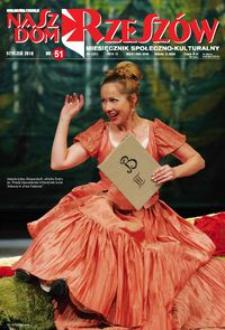 Nasz Dom Rzeszów : miesięcznik społeczno-kulturalny. 2010, R. 6, nr 1 (styczeń)