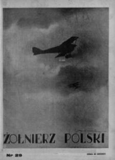 Żołnierz Polski. 1928, R. 10, nr 29 (15 lipca)