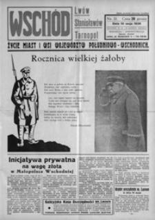 Wschód : życie miast i wsi województw południowo-wschodnich : Lwów, Stanisławów, Tarnopol. 1936, R. 1, nr 11-13 (maj)