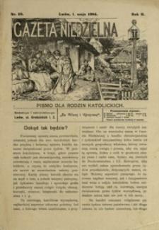 Gazeta Niedzielna : pismo dla rodzin katolickich. 1904, R. 2, nr 19 (maj)