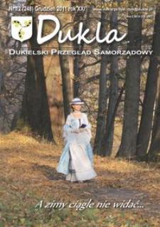 Dukla.pl : dukielski przegląd samorządowy. 2011, R. 21, nr 12 (grudzień)