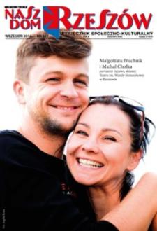Nasz Dom Rzeszów : miesięcznik społeczno-kulturalny. 2014, R. 10, nr 9 (wrzesień)
