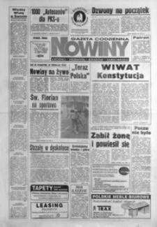 Nowiny : gazeta codzienna. 1995, nr 84-104 (maj)