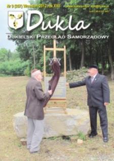 Dukla.pl : dukielski przegląd samorządowy. 2012, R. 22, nr 9 (wrzesień)