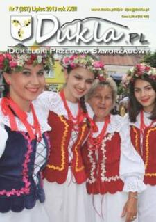 Dukla.pl : dukielski przegląd samorządowy. 2013, R. 23, nr 7 (lipiec)
