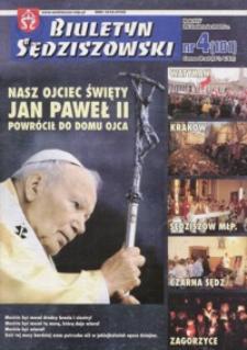 Biuletyn Sędziszowski. 2005, R. 14, nr 4 (26 kwietnia)