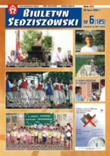 Biuletyn Sędziszowski. 2007, R. 16, nr 6 (20 lipca)