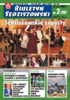 Biuletyn Sędziszowski. 2009, [R. 18], nr 2 (28 lutego)