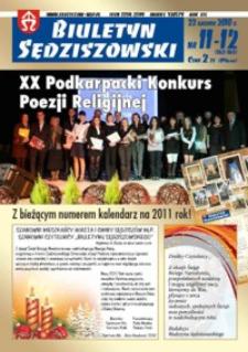 Biuletyn Sędziszowski 2010, R. 19, nr 11-12 (22 grudnia)