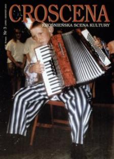 Croscena : krośnieńska scena kultury. 2003, nr 3 (lipiec-sierpień)