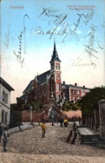 Przemyśl. Kościół Karmelitanek = Karmeliten-Kirche [Widokówka z obiegu]