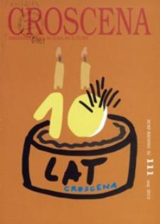 Croscena : krośnieńska scena kultury. 2013, nr 111 (maj)