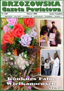 Brzozowska Gazeta Powiatowa. 2008, nr 3/60 (marzec)