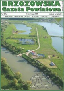 Brzozowska Gazeta Powiatowa. 2008, nr 6/63 (czerwiec)