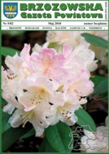 Brzozowska Gazeta Powiatowa. 2010, nr 5 (maj)