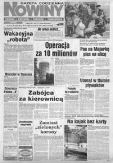 Nowiny : gazeta codzienna. 1997, nr 126-148 (lipiec)