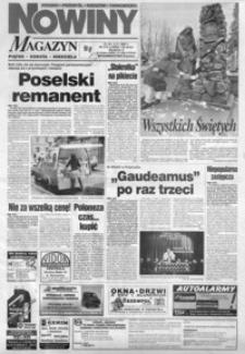 Nowiny : gazeta codzienna. 1997, nr 213-232 (listopad)
