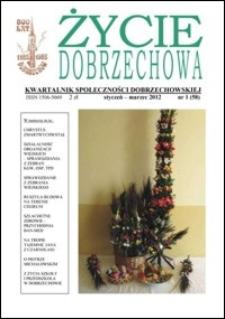 Życie Dobrzechowa : kwartalnik społeczności dobrzechowskiej. 2012, nr 1 (styczeń-marzec)