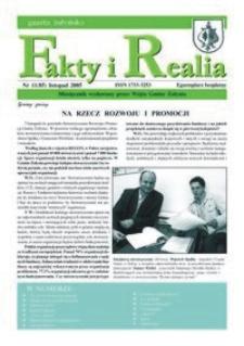 Fakty i Realia : gazeta żołyńska. 2005, nr 11 (listopad)