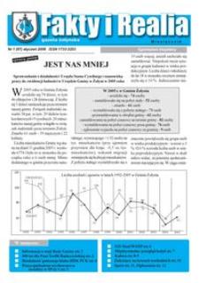 Fakty i Realia : gazeta żołyńska. 2006, nr 1 (styczeń)