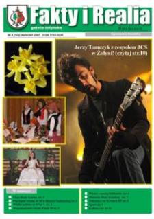 Fakty i Realia : gazeta żołyńska. 2007, nr 4 (kwiecień)