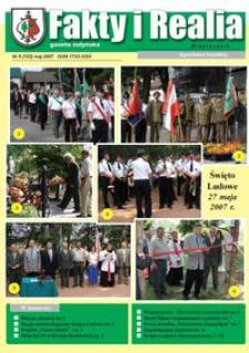 Fakty i Realia : gazeta żołyńska. 2007, nr 5 (maj)