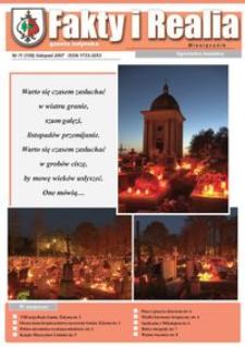 Fakty i Realia : gazeta żołyńska. 2007, nr 11 (listopad)