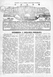 Tygodnik Polski : Bulletin de la Mission Catholique Polonaise : jedyne czasopismo polskie w Azji. 1925, R. 4, nr 148 (luty)
