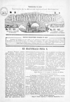 Tygodnik Polski : Bulletin de la Mission Catholique Polonaise : jedyne czasopismo polskie w Azji. 1927, R. 6, nr 277, 279-280 (sierpień)