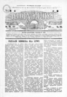 Tygodnik Polski : Bulletin de la Mission Catholique Polonaise : jedyne czasopismo polskie w Azji. 1927, R. 6, nr 285-289 (październik)